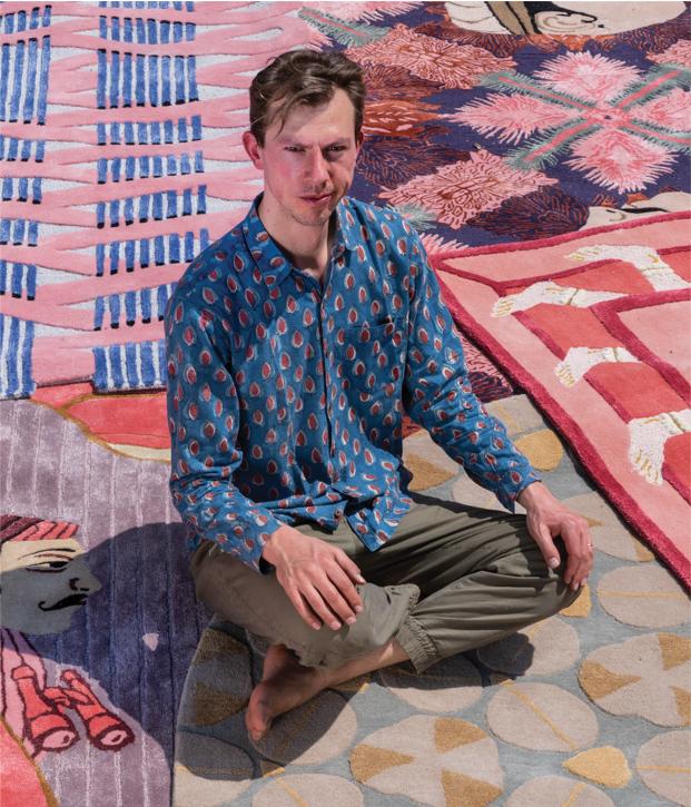 MATTEO CIBIC– Designer Jaipur Rugs