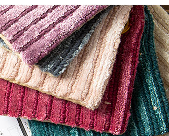 area rug swatches