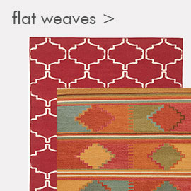 Flat weave and dhurrie rugs
