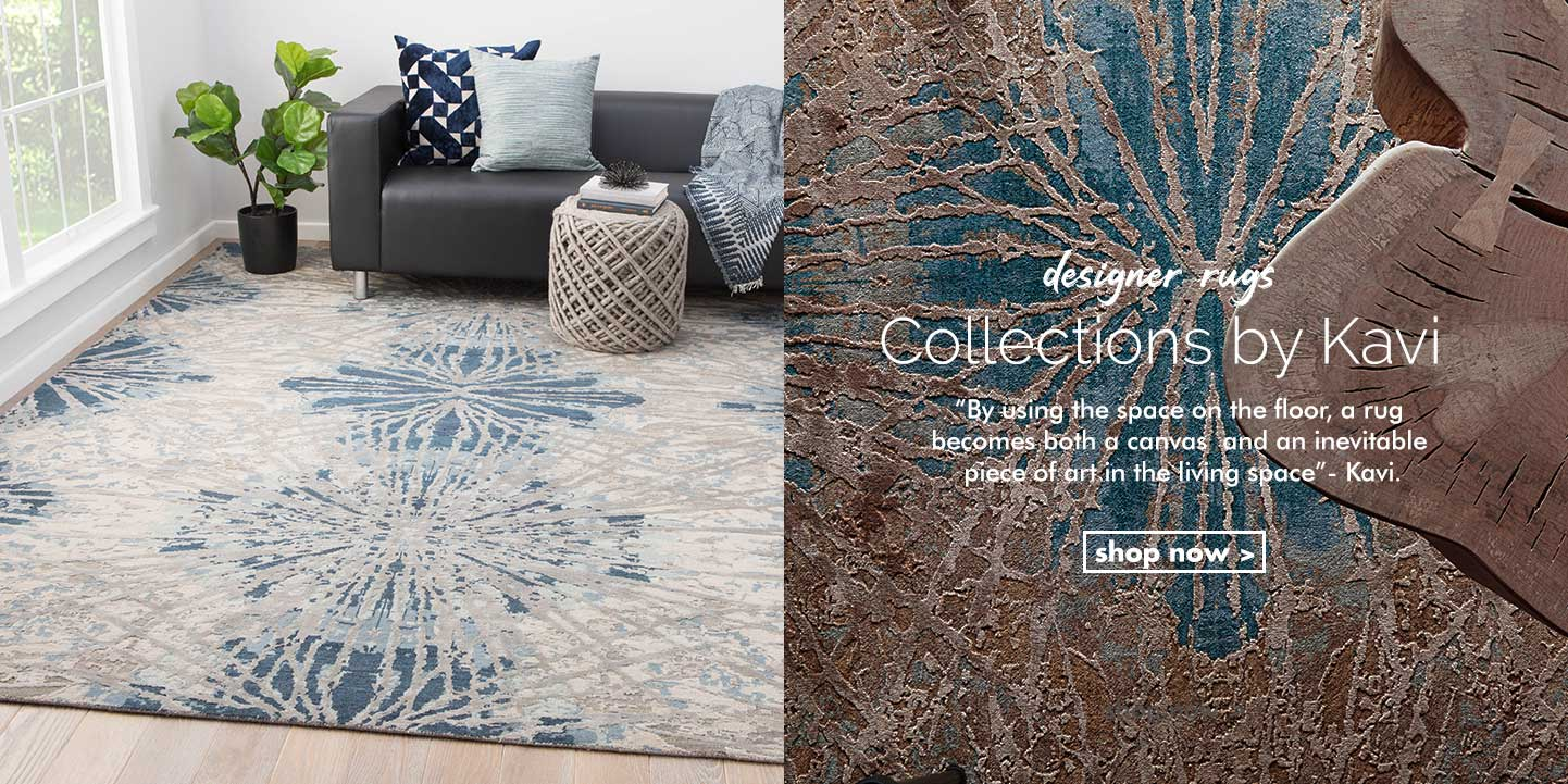 Designer rugs - collection by kavi - shop now
