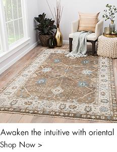 Awake the intutive with oriental rugs