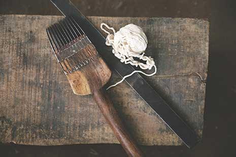 Panja tool for rug making